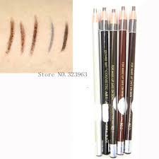 light grey eyebrow pencil 1pcs 5 colors 1818 long lasting eyebrow pencil waterproof eye brow