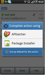problem parsing apk install android apps from gmail