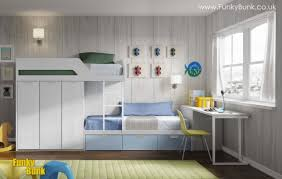 FUNKY BUNK Kids Staggered Bunk Beds Funky Space Saving - Funky bunk beds uk