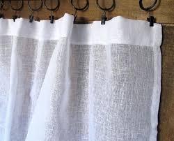 marvelous sheer white linen curtains u2013 burbankinnandsuites com