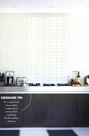 stacked kitchen backsplash eight ways to use subway tiles for your backsplash subway tiles