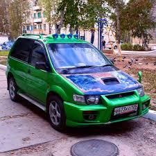rvr mitsubishi 1999 mitsubishi rvr tuning super avto tuning youtube