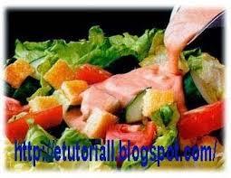 cara membuat salad sayur atau buah e tutorial resep salad sayur dan buah kacang