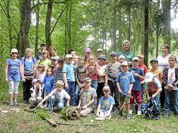 Reutter Bad Einen Ereignisreichen Tag Im Wald Erlebten Die Kinder Mit Förster