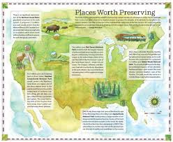 National Park Map Usa by As The National Park Service Celebrates Its Centennial The Parks