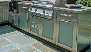 Kitchen Cabinet Stainless Steel Stainless Steel Outdoor Kitchen Cabinets 12 With Stainless Steel
