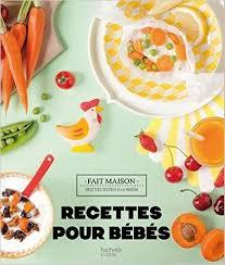 recette de cuisine sur 3 recettes pour bébés 0 3 ans cubes petits pois
