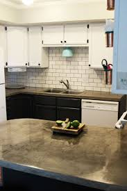 Black Kitchen Backsplash How To Install A Subway Tile Kitchen Backsplash