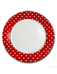dots white on dinner plates clearance paperstyle