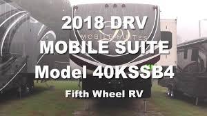 2018 drv mobile suites 40kssb4 vin 5keag4222j1366545 youtube