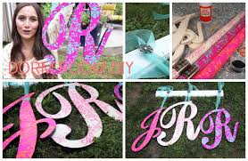 Home Decor Initials Letters Diy Wooden Initial Wall Decor Dorm Room Diy Youtube