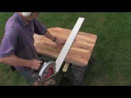 ikea kitchen cutting table easy ikea butcher block countertop cutting technique youtube