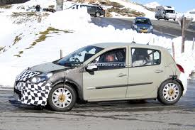renault twingo 2013 spied next generation 2013 renault clio test mule shows new snout
