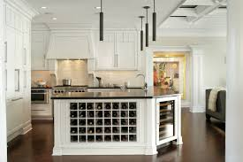 kitchen island with wine storage any connoisseur s modern wine cellar designs