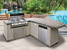prefabricated kitchen island hayneedle grills outdoor kitchen island kits outdoor kitchen