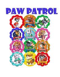 25 paw patrol cake toppers ideas paw patrol