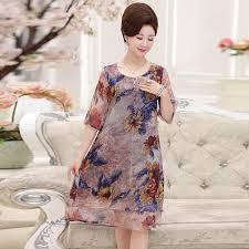 elderly women dresses middle aged women clothes plus size middle aged and elderly women s