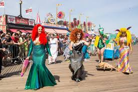 when is the halloween parade in new york city coney island mermaid parade