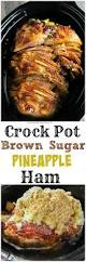 how to cook thanksgiving ham crock pot brown sugar pineapple ham