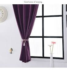100 Curtains Polyester Finished Modern Window Blackout Curtains For Living Room