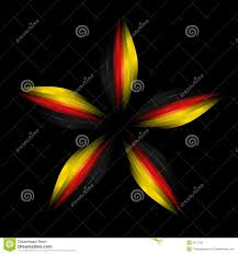 star in german flag colours stock photography image 9167732