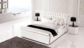 white leather bedroom sets bed frames splendid leather king bedroom sets plus ae b6275 white