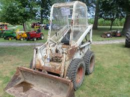 1961 melroe bobcat 3 wheel skid steer loader construction