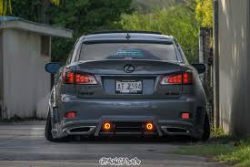 lexus japan sablan u0027s aimgain lexus is350 stanced up