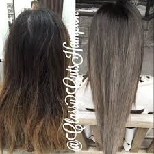 black at root of hair image result for subtle dark root smokey ash color melt pretty