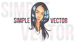illustrator tutorial vectorize image simple vector portraits illustrator tutorials youtube