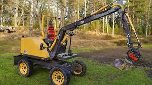 homemade excavator fodere towable excavators tooling