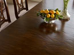 portolone solid wood trestle table with two extension leaves by