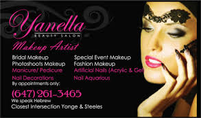 freelance makeup artist business card gallery business card designs lawn yard bag signs in toronto
