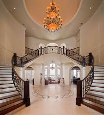 French Chateau Interior Luxury House Interiors In European And Traditional Mansion And