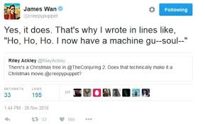 james wan wants you to know that u0027the conjuring 2 u0027 is totally a