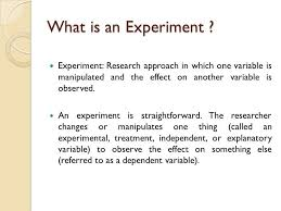 causal research experiments test market ppt