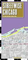 Metro Map Chicago by Streetwise Chicago Map Laminated City Center Street Map Of
