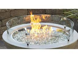 outdoor greatroom fire table outdoor greatroom 42 round cove fire pit table cv 30