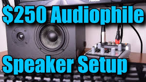 local home theater installers audiophile speaker 2 1 setup for under 250 youtube