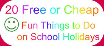 20 free or cheap things to do on school holidays with your