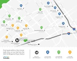 Expo Line Map Get Going Beta Smgov Net City Of Santa Monica