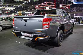 mitsubishi triton 2018 bangkok 2017 mitsubishi triton athlete launched powertrain