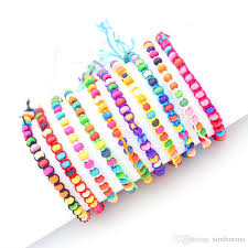 string bracelet with beads images Fashion jewelry weave rope string small beads friendship bracelets jpg