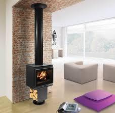 cheminee moderne design poêle cheminée design u0026 moderne modulo fondis