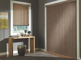 Wood Blinds For Patio Doors Glass Door Window Treatments Supreme Window Coverings Inc In