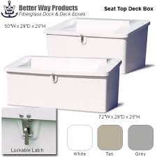 order fiberglass storage box with seat top from shop nc com