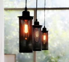 Hanging Industrial Lights by Pendant Lamps Retro Industrial Lights American Country Nostalgic