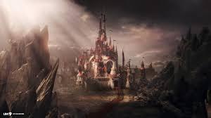 fantasy art castle wallpaper u2022 dodskypict