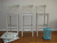 shabby chic bar stools x 2 bar stool stools and shabby