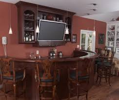 bar awesome home bar decor with small wine cellar on the corner